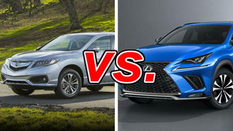 acura rdx vs lexus nx 300 carsdirect. Black Bedroom Furniture Sets. Home Design Ideas