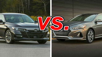 Honda Accord Hybrid Vs Hyundai Sonata