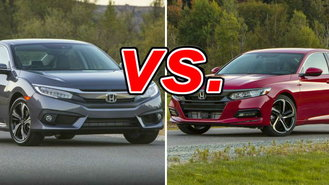 The Honda Civic And Accord May Sit In Different Parts Of The Segment, But  Both Vehicles Share A Lot Of The Same Positive Qualities That Make Them  Leaders In ...