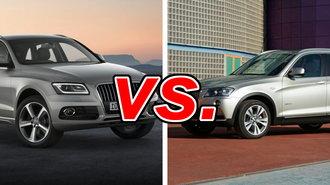 Audi Q Vs BMW X CarsDirect - Audi q5 vs bmw x5