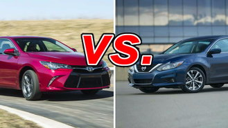 Toyota Camry vs Nissan Altima  CarsDirect