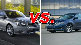 Nissan altima vs subaru legacy