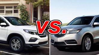 Honda Pilot vs Acura MDX - CarsDirect on acura si, acura da, acura tsx, acura ls,