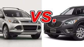 ford escape vs. mazda cx-5 - carsdirect