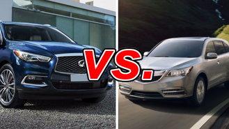 Acura mdx vs infiniti qx60