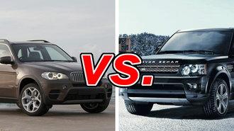 BMW X5 vs. Land Rover Range Rover Sport - CarsDirect