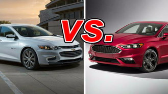 Chevrolet Malibu Vs Ford Fusion
