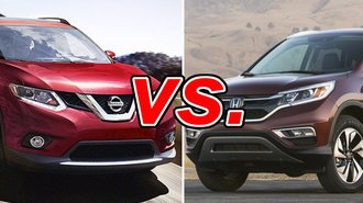 nissan rogue vs honda cr v carsdirect. Black Bedroom Furniture Sets. Home Design Ideas