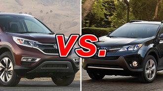 Honda CR V Vs Toyota RAV4 CarsDirect