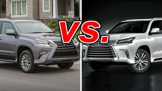 Lexus GX vs  Lexus LX - CarsDirect