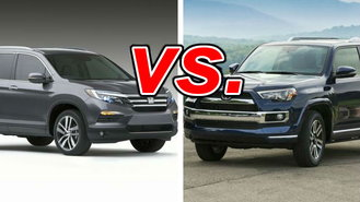 Compare honda pilot and toyota 4runner