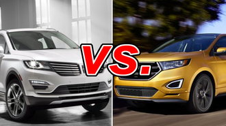 Will The Upscale Lincoln Mkc Take The Belt Or Will The Bigger Less Expensive Ford Edge Steal