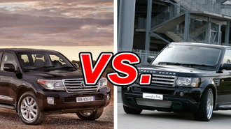 Toyota Land Rover >> Toyota Land Cruiser Vs Land Rover Range Rover Carsdirect
