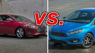 Hyundai Elantra vs Ford Focus  CarsDirect
