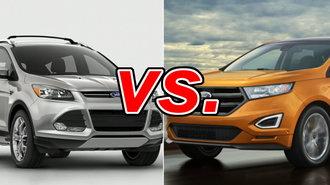 Ford Edge Vs Escape >> Ford Escape Vs Ford Edge Carsdirect