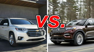 Chevrolet Traverse vs. Ford Explorer - CarsDirect