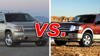 The Chevrolet Tahoe And Ford Expedition Compete In A Shrinking Cl Of Old School Truck Based Suvs While They Don T Have Maneuverability Or Fuel