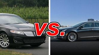 Xts Vs Cts >> Lincoln MKS vs Cadillac XTS - CarsDirect