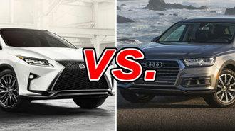 Lexus RX Vs Audi Q CarsDirect - Audi q10 for sale