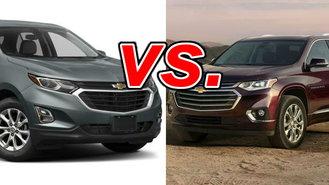 Chevrolet Equinox vs. Chevrolet Traverse - CarsDirect
