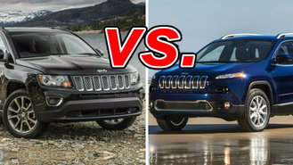 jeep compass vs jeep cherokee carsdirect. Black Bedroom Furniture Sets. Home Design Ideas