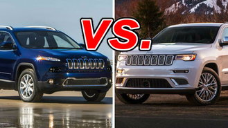 jeep cherokee vs jeep grand cherokee carsdirect. Black Bedroom Furniture Sets. Home Design Ideas