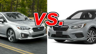 Difference between legacy and impreza