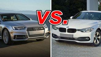 Audi A Vs BMW I CarsDirect - Bmw 328i vs audi a4