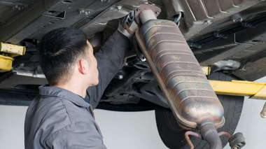 Catalytic Converter Installation