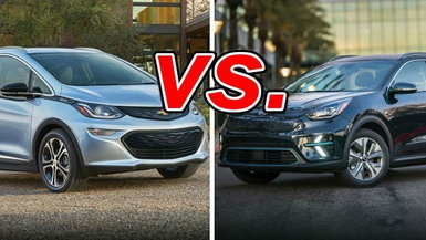 Chevrolet Bolt EV vs. Kia Niro EV