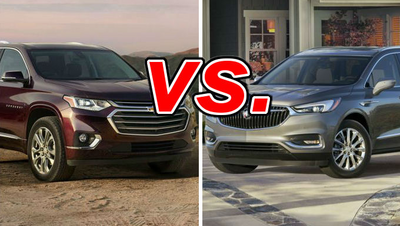 Chevrolet Traverse vs  Buick Enclave - CarsDirect