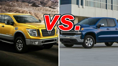 Nissan Titan XD vs  Chevrolet Silverado 1500 - CarsDirect