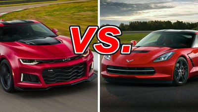 Camaro Vs Corvette >> Chevrolet Camaro Vs Chevrolet Corvette Carsdirect