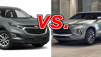 Chevrolet Equinox Vs Chevrolet Blazer Carsdirect