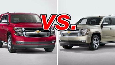 Chevrolet Tahoe Vs Chevrolet Suburban Carsdirect