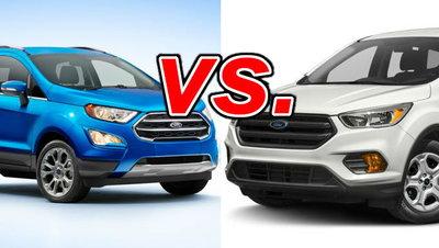Ford EcoSport vs  Ford Escape - CarsDirect