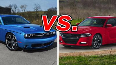 Charger Vs Challenger >> Dodge Charger Vs Dodge Challenger Carsdirect