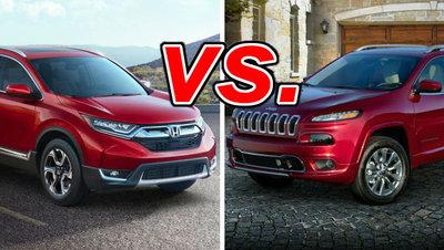 Honda CR-V vs  Jeep Cherokee - CarsDirect