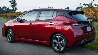 2019 Nissan Leaf Debuts With 0 Apr 10 000 Lease Discount