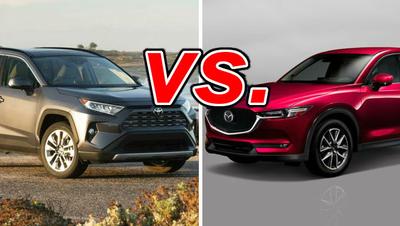 Cx5 Vs Rav4 >> Toyota Rav4 Vs Mazda Cx 5 Carsdirect