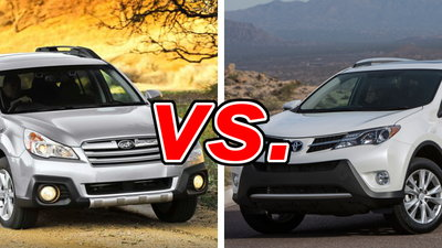 Subaru Outback vs  Toyota RAV4 - CarsDirect