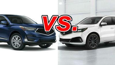 Acura Mdx Vs Rdx >> Acura Rdx Vs Acura Mdx Carsdirect