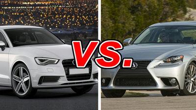 Lexus Vs Audi >> Audi A3 Vs Lexus Is 250 Carsdirect