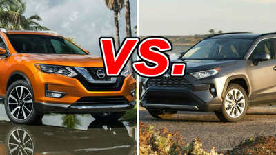 Nissan Rogue Vs Toyota Rav4 >> Nissan Rogue Vs Toyota Rav4 Carsdirect