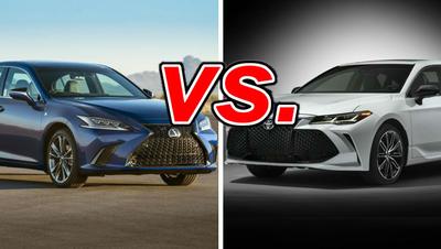 Lexus ES vs  Toyota Avalon - CarsDirect