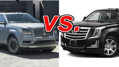 Lincoln Vs Cadillac >> Lincoln Navigator Vs Cadillac Escalade Carsdirect