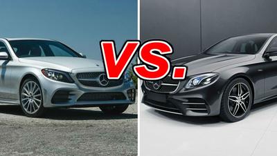 Mercedes-Benz C-Class vs  Mercedes-Benz E-Class - CarsDirect