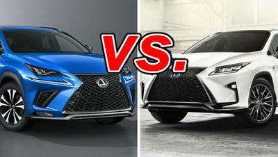 Lexus Nx Vs Rx >> Lexus Nx Vs Lexus Rx Carsdirect