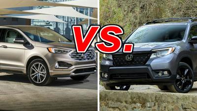 Ford Edge vs  Honda Passport - CarsDirect