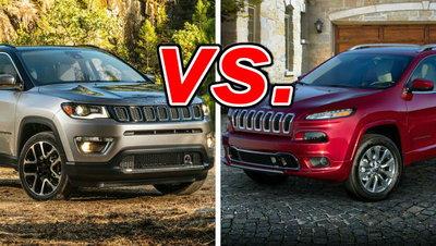 Jeep Compass Vs Jeep Cherokee >> Jeep Compass Vs Jeep Cherokee Carsdirect